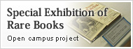 Special Exhibition of Rare Books