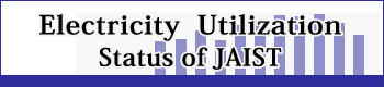 JAIST電力使用状況 / Electricity Utilization