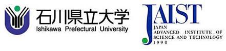 石川県立大学、北陸先端技術大学院大学ロゴ